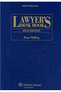 Lawyers Desk Book, 2010 Edition