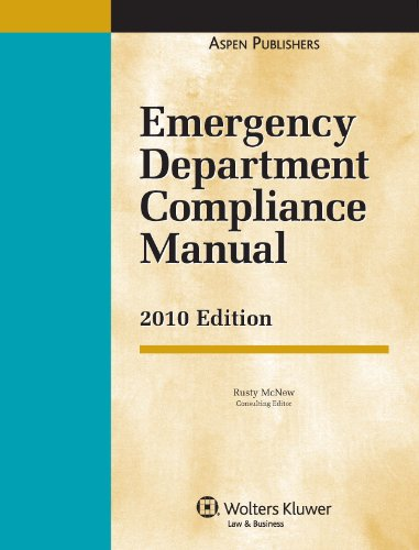 9780735591448: Emergency Department Compliance Manual 2010e