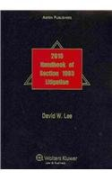 9780735593169: Handbook of Section 1983 Litigation 2010e