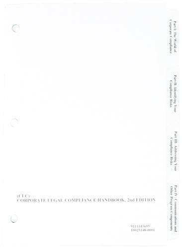 9780735593817: Corporate Legal Compliance Handbook, 2nd Edition