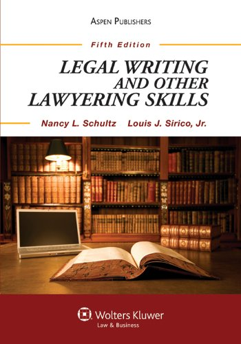 9780735594029: Legal Writing and Other Lawyering Skills