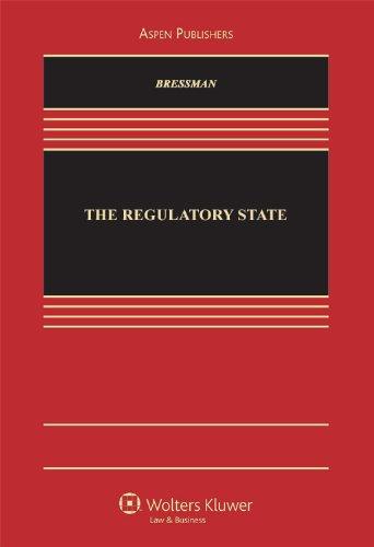 9780735594173: The Regulatory State