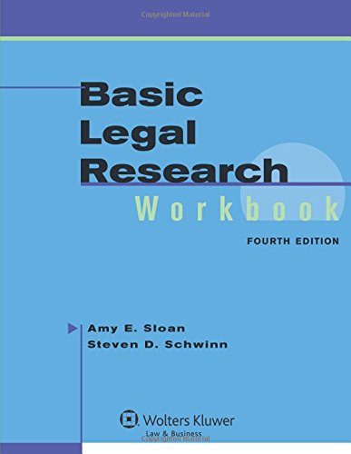 9780735594548: Basic Legal Research Workbook, 4th Edition (Aspen Coursebook Series)