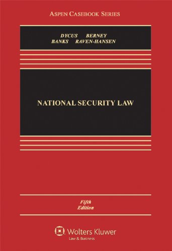 9780735594753: National Security Law, Fifth Edition (Aspen Casebooks)