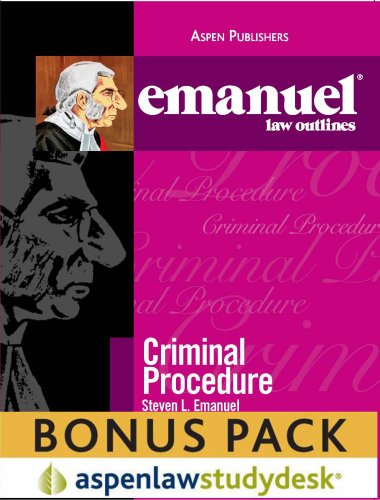 9780735595774: Emanuel Law Outlines: Criminal Procedure (Print + eBook Bonus Pack)