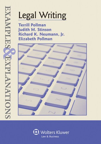 9780735597303: Legal Writing: Examples & Explanations (The Examples & Explanations Series)