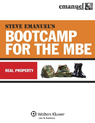 9780735597396: MBE Bootcamp: Property (Bootcamp for the Mbe)