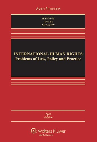 9780735598140: International Human Rights (Aspen Casebook)