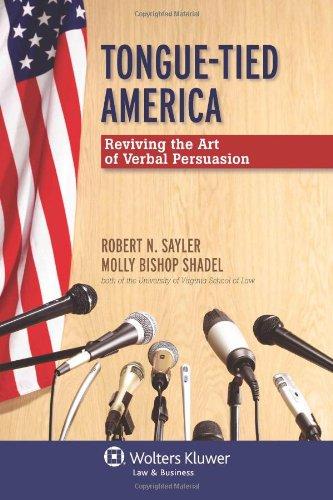 9780735598591: Tongue-Tied America: Reviving the Art of Verbal Persuasion