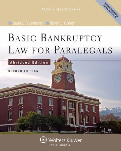 9780735598799: Basic Bankruptcy Law for Paralegals (Abridged), 2nd Edition (Aspen College)