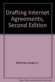 9780735598966: Drafting Internet Agreements, Second Edition