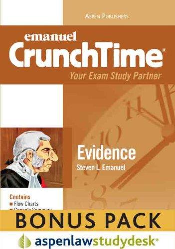 9780735599307: CrunchTime: Evidence 2010 (Print + eBook Bonus Pack)