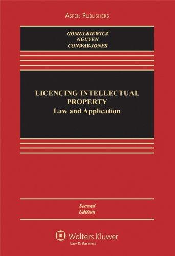 9780735599727: Licensing Intellectual Property: Law & Application 2e (Aspen Casebook Series)