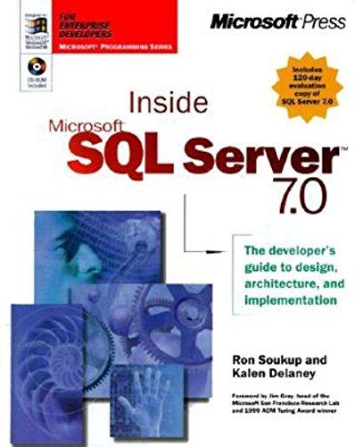9780735605176: Inside Microsoft SQL Server 7.0 (Mps)