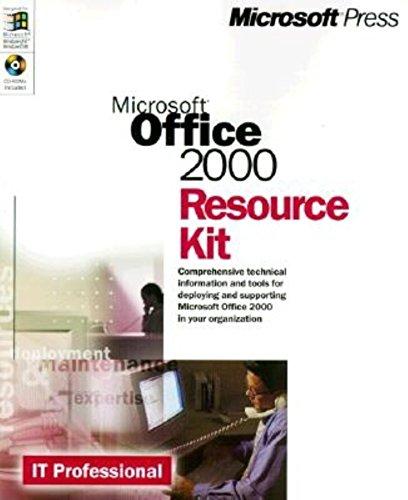 9780735605558: Microsoft Office 2000 Resource Kit