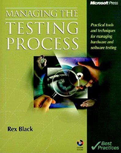 9780735605848: Managing the Testing Process