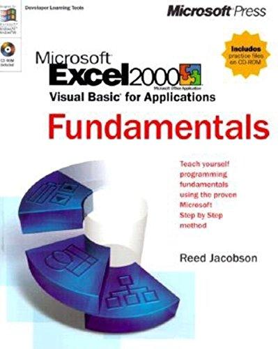9780735605930: Microsoft Excel 2000/Visual Basic for Applications Fundamentals (Langage et Programmation)