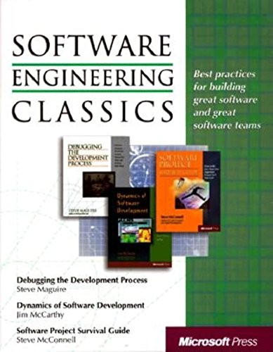 9780735605978: Software Engineering Classics: Software Project Survival Guide/ Debugging the Development Process/ Dynamics of Software Development (Programming/General)