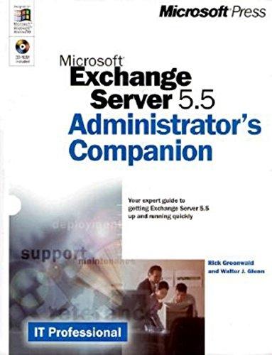 9780735606463: Microsoft Exchange Server 5.5 Administrator's Companion (Administrative Companion)
