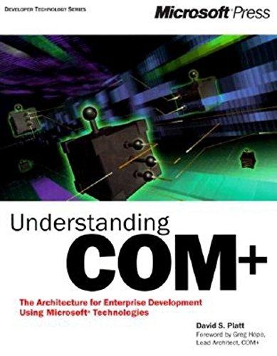 Understanding COM+ (Developer Technology): Platt, David S.