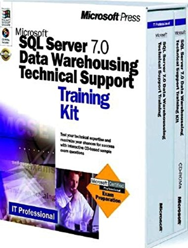 Microsoft SQL Server 7 Data Warehousing Technical Support Training Kit (0735606706) by Microsoft Corporation; Microsoft Corporation Staff