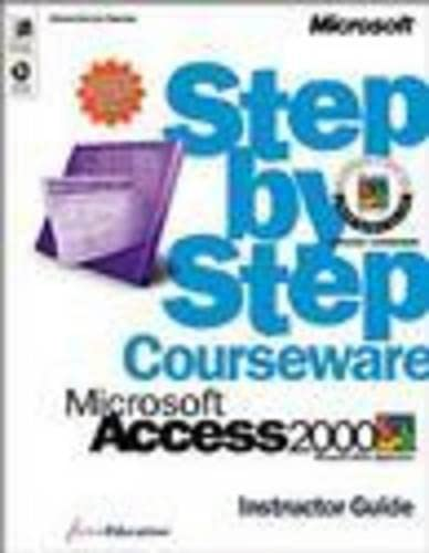 9780735606944: Access 2000 Step by Step Instructor's Guide