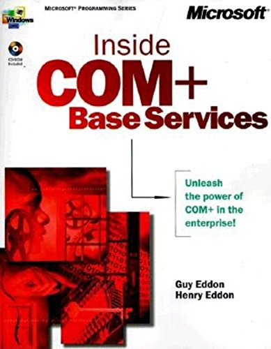 9780735607286: Inside COM + Base Services (Microsoft Programming Series)
