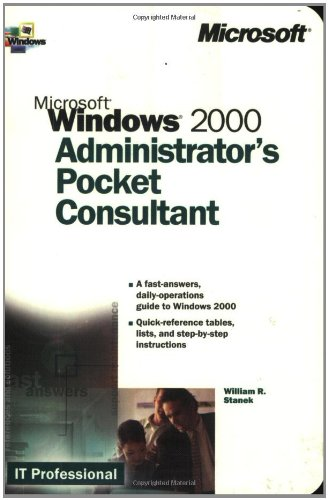 9780735608313: Microsoft Windows 2000 Administrator's Pocket Consultant