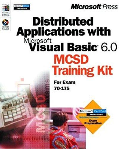 9780735608337: Distributed Applications with Microsoft Visual Basic 6.0 MCSD Training Kit (Dv-McSd Training Kit)