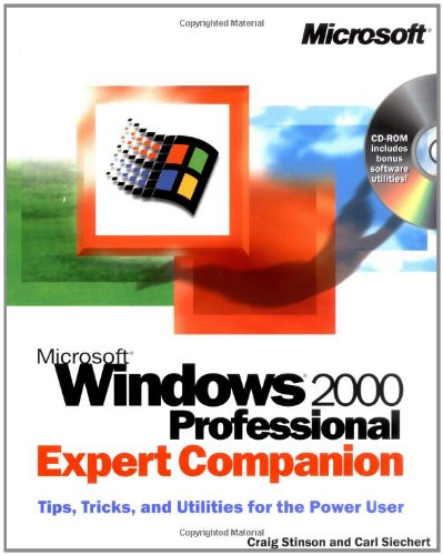 9780735608559: Microsoft Windows 2000 Professional Expert Companion: Professional Expert Companion