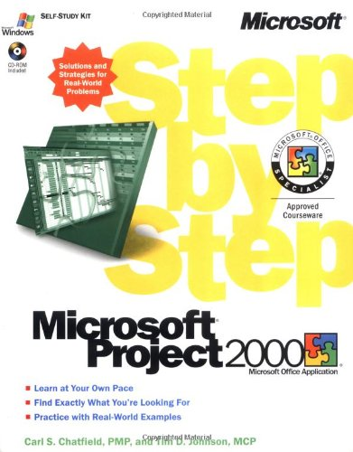 9780735609204: Microsoft Project 2000 Step by Step