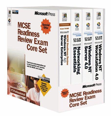 9780735609235: MCSE Readiness Review Exam Core Set