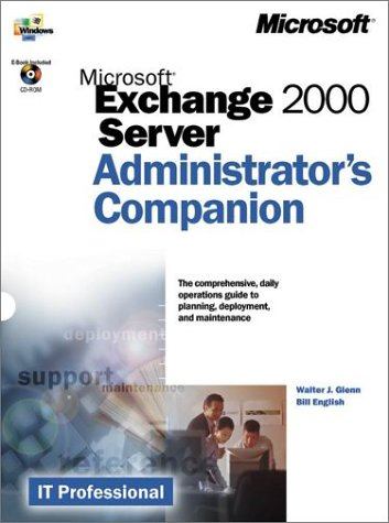 9780735609389: Microsoft Exchange 2000 Server: Administrator's Companion