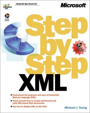 9780735610200: XML Step by Step (DV-DLT Fundamentals)