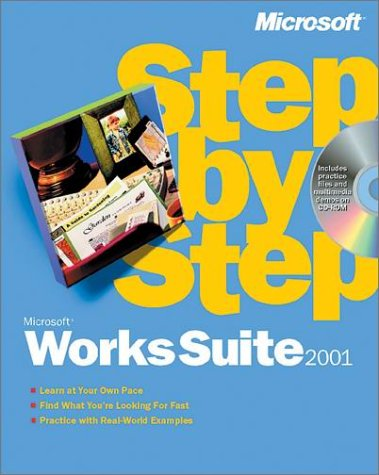 9780735610354: Step-By-Step Microsoft Works Suite 2001 (EU-Step by Step)