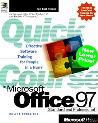 9780735610767: Quick Course(r) in Microsoft(r) Office 97