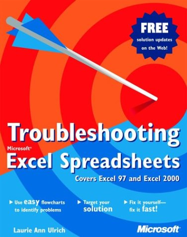 9780735611610: Troubleshooting Microsoft Excel Spreadsheets (Eu-Undefined)