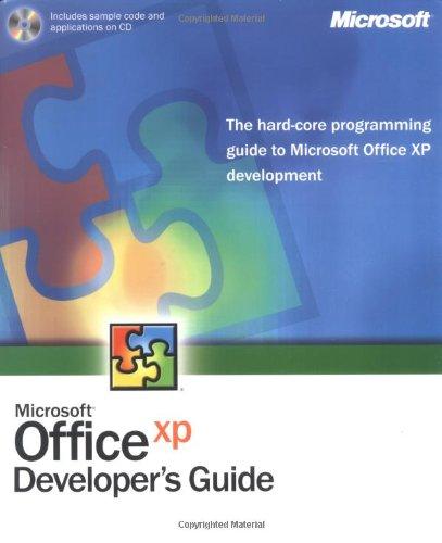 Microsoft Office XP Developer's Guide: Microsoft Official Academic