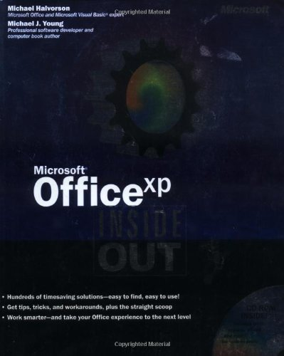 9780735612778: Microsoft® Office XP Inside Out