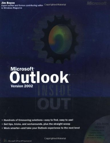 9780735612822: Microsoft Outlook Version 2002 Inside Out