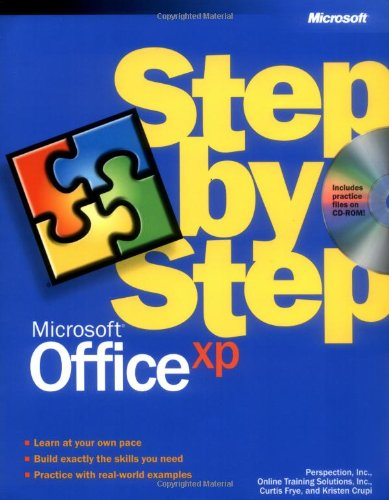9780735612945: Microsoft® Office XP Step by Step