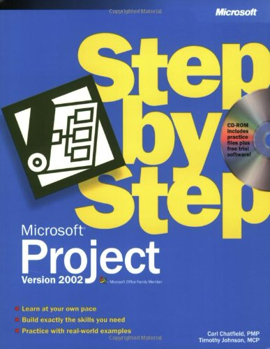 9780735613010: Microsoft® Project Version 2002 Step by Step