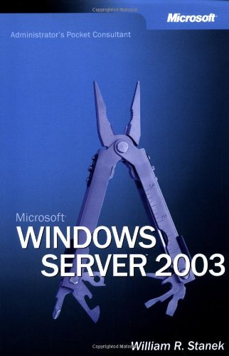 9780735613546: Microsoft Windows Server 2003 Administrator's Pocket Consultant (Pro-Administrator's Pocket Consultant)