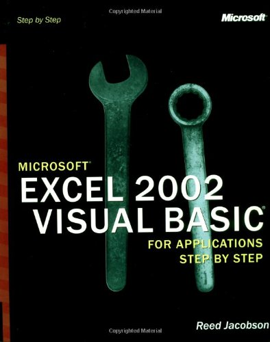 9780735613591: Microsoft® Excel 2002 Visual Basic® for Applications Step by Step