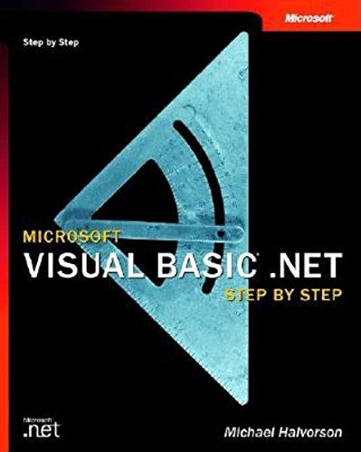 9780735613744: Visual basic. net step by step (Step By Step (Microsoft))