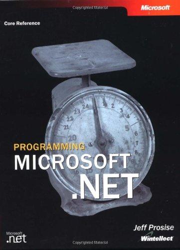 9780735613768: Programming Microsoft® .NET (Core Reference)