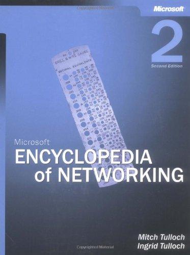 9780735613782: Microsoft® Encyclopedia of Networking