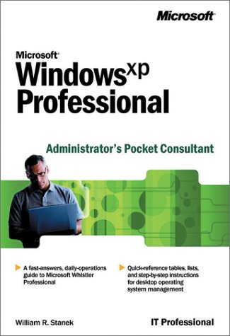9780735613812: Microsoft Windows XP Professional Administrator's Pocket Consultant (IT Professional)