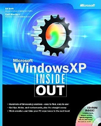 9780735613829: Microsoft Windows XP Inside out