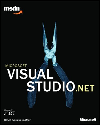 9780735614468: Microsoft Visual Studio.Net (Pro- Developers)